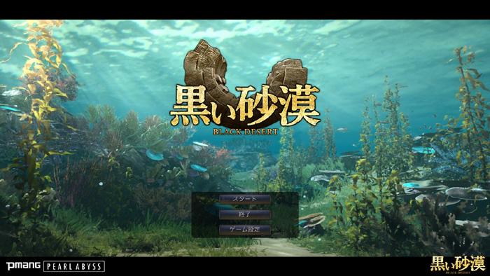 黒い砂漠ゲーム画面