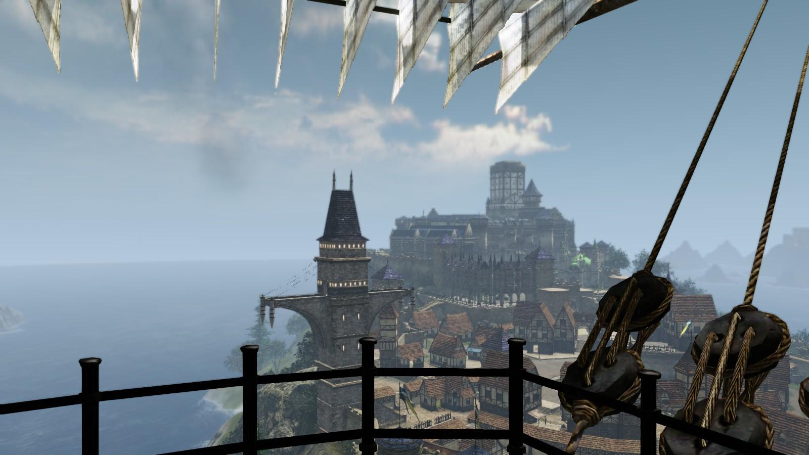 飛空船からの風景