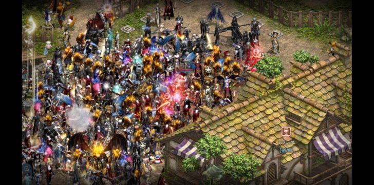 銀騎士村の危機